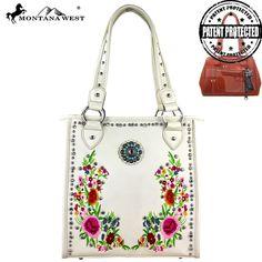 Montana West Embroidered Concealed Handgun Handbag – Handbag-Addict.com