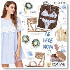 Designer Clothes, Shoes & Bags for Women Violet Voss, Romwe, Gladiator Sandals, Your Style, Swimsuits, Bubble, Summer Dresses, Lifestyle, Polyvore