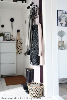 Hallway make over via that nordic feeling