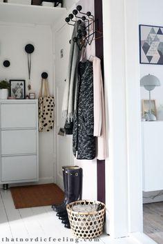 Hallway make over via that nordic feeling