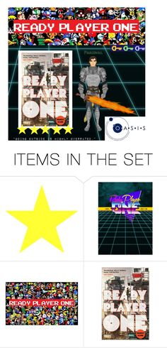 """""""Ready Player One (book)"""" by hangar-knjiga ❤ liked on Polyvore featuring art, book, books and readyplayerone"""