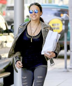 MORNING STROLL      Michelle Rodriguez runs errands around Beverly Hills on Wednesday.  Star Tracks: Thursday, March 23, 2017