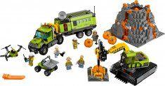 LEGO City 60124 Sopečná základňa prieskumníkov