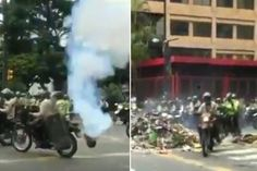 Ahora #Represión Brutal en la #PlazaAltamira de #Caracas #Venezuela ///  @CESCURAINA/Prensa en Castellano en Twitter