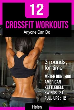 12 #Cross_Fit Workouts Anyone Can Do.