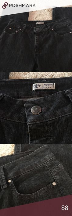 Riders by Lee jeans Riders by Lee jeans with no gap waist. Boot cut. EUC. Dark grey in color Lee Jeans Boot Cut