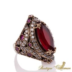 #fashion Hareem Exclusive Collection Ring HS-0019  #jewelry #ottoman