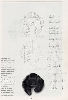 How to lay out a croissant a pedagogical exercise by Spanish architect Enric Miralles (1955-2000) [2307x3372]