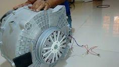gerador de energia com motor de ventilador - YouTube