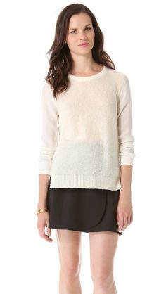 What a great wardrobe staple. Goes with everything. Theory Rolleena Sweater | Chasing Life