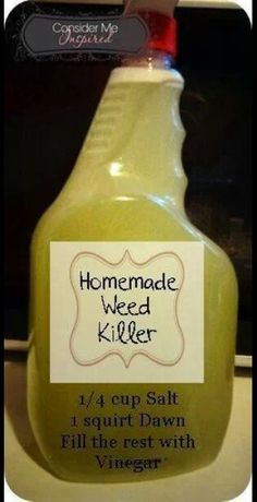 weed killer home made