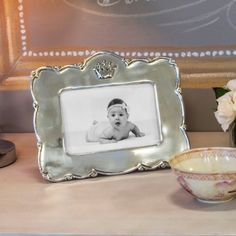 Baby ~ Princess Crown Frame (4x6) by Beatriz Ball
