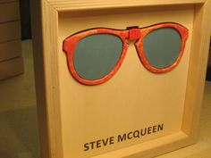 Famous Glasses: STEVE MCQUEEN