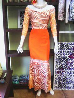 New Dress Pattern, Dress Patterns, Different Dresses, Types Of Dresses, Samoan Designs, Samoan Dress, Island Style Clothing, Hawaiian Fashion, Island Outfit