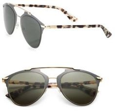 0b3fa1deee77 Dior Reflected 52MM Modified Pantos Sunglasses Christian Dior Sunglasses