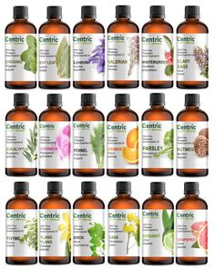 100% Pure Natural Essential Oils 4 oz (120ml)  - Choose From 60 - FREE SHIPPING  #CentricNaturals