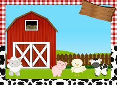 La Granja Bebés: Etiquetas para Candy Buffet para Imprimir Gratis. Farm Animal Party, Farm Animal Birthday, Barnyard Party, Farm Yard Birthday Party, 2nd Birthday, Farm Party Invitations, Baby Farm Animals, Farm Theme, Fall Projects