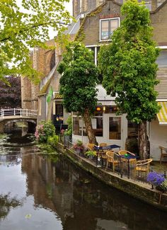 Delft, Netherlandsn but this could be anywhere in Holland . I miss you Holland. Places Around The World, Oh The Places You'll Go, Places To Travel, Places To Visit, Around The Worlds, Travel Destinations, Delft, Holland Netherlands, Amsterdam Netherlands