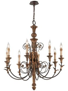 Luxembourg 8-Light Chandelier | House of Antique Hardware
