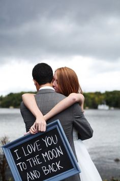 """I love you to the moon and back!"" Photography by simplephoto.ca"