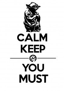 ANTI-STRESS -         Calm Keep with Yoda...