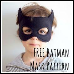 A Free Batman Mask Pattern