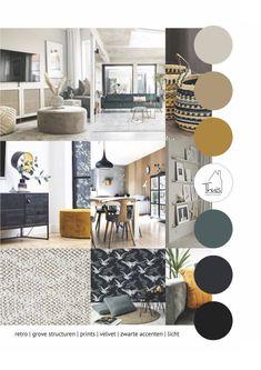 Home Living Room, Living Room Designs, Living Room Decor, Bedroom Decor, Look Boho Chic, Boho Chique, Room Colors, House Colors, Interior Design Boards
