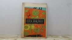 Four Fur Feet, 1961, Margaret Wise Brown, Remy Charlip, READ DESCRIPTIONS, vintage kids book by RandomGoodsBookRoom on Etsy
