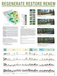 Concurso: Point Pleasant Park. Halifax, Nova Scotia, Canadá. 2005. Finalista. Autores: Takano Landscape Planning Co. Limited. Estágio 02. P03/P04.