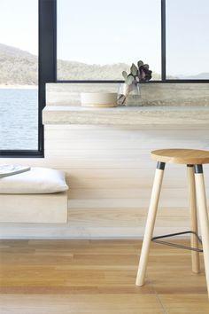 Pipkorn & Kilpatrick Interior Architecture and design | Eildon Houseboat