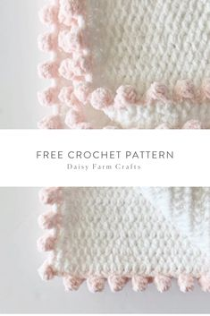 Crochet Heart Free Crochet Pattern - Polka Dot Heart Doll Blanket - I had so much fun designing my annual heart blanket, especially when I realized my daughter-in-law's little sister's birthday was… Crochet Blanket Edging, Crochet Edging Patterns, Crochet Borders, Crochet Stitches, Crochet Edgings, Crochet Blankets, Free Heart Crochet Pattern, Cross Stitches, Loom Patterns