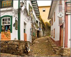 Streets of Ouro Preto - Ouro Preto, Minas Gerais