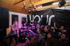 Your Army im Filou am 26.1.2012 @yourarmyuk #steinhude #livemusic #club