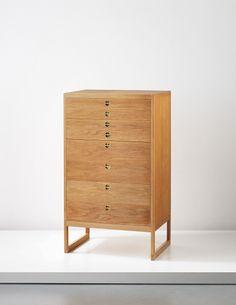 PHILLIPS : UK050214, Børge Mogensen, Chest of drawers, model no. BM 64