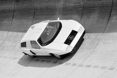 Mercedes-Benz C 111/I with a rotary engine #benz #concept #autos