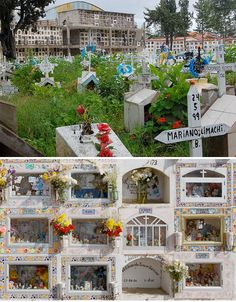 While many cemeteries are no more than a few rows of indistinguishable stone grave markers, others celebrate the unique identities of each deceased person. Sucre's General Cemetery in Bolivia is one such resting place, and you won't find many people quietly sobbing into handkerchiefs here.