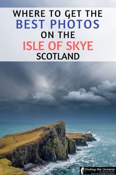 A guide to the best photography locations on the Isle of Skye, Scotland, with tips on gear for each location, exact locations and instructions for where to go to get the best shot! #travel #scotland #photography