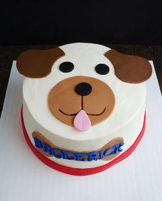 Puppy smash cake #windycitydinnerfairy #treatsbywcdf