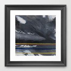 Storm Framed Art Print by HMSinTO - $33.00
