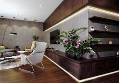 צבעים לא שגרתיים: יוקרתיות רגועה בבית בלטביה   בניין ודיור