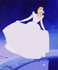 Cinderella. One of my all-time favorite Disney gowns>>> I know right?