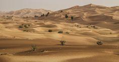 The Big Red Sand Dunes - Dubai, UAE by Khurram Shahzad on 500px