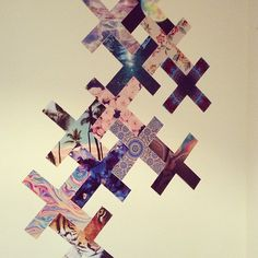 mildrose: rosish: j-upe: fromyoutaro: My bedroom wall » #xx #patterns #mate THIS IS THE COOLEST THING EVER wow I NEED TO DO THIS OFMMGOGMFG