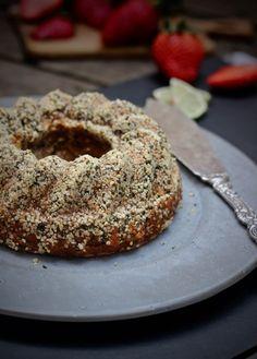 Glutenfri sötpotatiskaka med smak av kanel och kardemumma