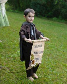 David and Keara's Real Lord of the Rings Wedding