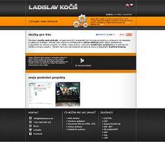 Webdesign for webdeveloper Ladislav Kočiš