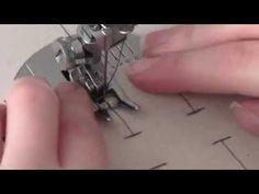 Dica Rapida - Como fazer casa de botão na maquina de costura - YouTube