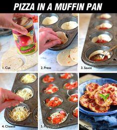Mini pizzas!