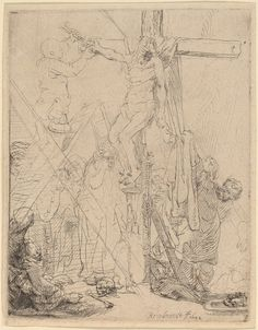 The Descent from the Cross: a Sketch Rembrandt1642
