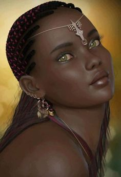 Green Eyed Goddess PRNCESS CATRA